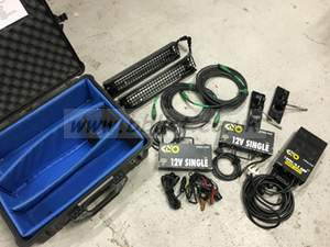 Kino Flo 12V SINGLE 2 head kit with pelicase 1600