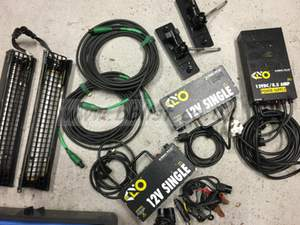 Kino Flo 12V SINGLE 2 head kit with pelicase 1600