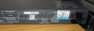 Leitch newer black 16x1p router matrix panel