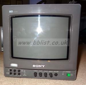 Sony 9inch bvm9221ME composite analog monitor (ref 4)