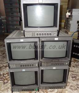 lot of 5x pvm9044QM sony 4:3 / 16:9 monitors