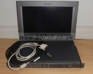 Sony LMD172W 17inch LCD monitor with SDI / analog and cables