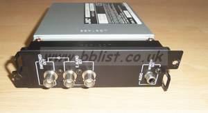 JVC IF-C21SDG SDI video with embedded input card