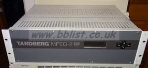 Tandberg MPG2 decoder