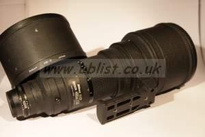Nikon 400mm Lens f2.8