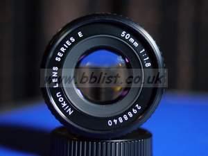 Nikon 50mm f1.8 E Series Prime Lens