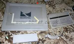 Quantel tablet digitizer, keyboard, joystick and interfance