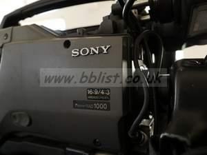 Sony DVW-790 & Fujinon A12x6.8 BRM lens