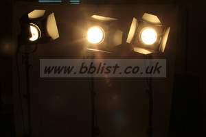 3x Lighting kit  800w Photon Beard