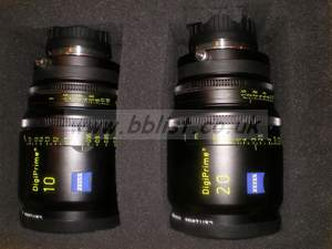 Carl Zeiss DigiPrime Broadcast Lens Set