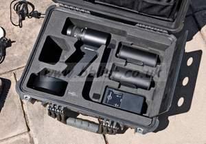 SpheroCam HDR camera in the case