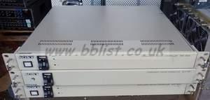 3x Sony BKE9600 / BVX10P controlls / colour correctors