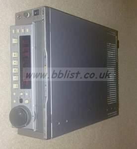 Sony J30 multiformat player for beta SP, digi beta, mpeg IMX