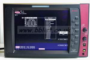 Two waveform Monitor Astro WM-3004+WM-3014
