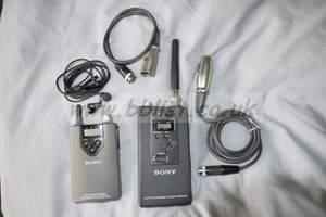 Sony Radio Mic Kit - WRT-805 + WRR-810 *CH 69*
