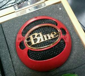 Blue Kickball powered dynamic drum mic