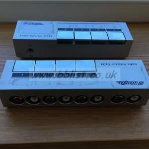 4 way Audio Selectors x2