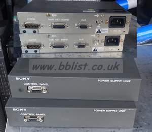 2x sony bke-9402 power supply interface units