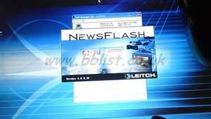 Faulty Leitch newsflash FX Nx4475 ES