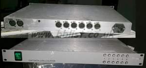 1RU CAR data modulator 6 channel system