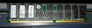 512mb DDR PC2100 CL2.5 ECC memory