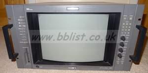 Sony 14inch BVM-14G5E rack mount grade 1 monitor