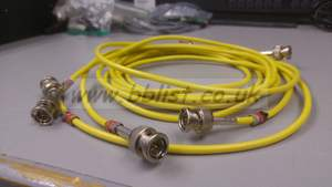 Belden video cable with BNC connector