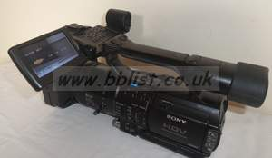 Sony HDV high defintiion hvrz1e (HVR-Z1E) camcorder with bat