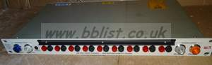 10 output mains distribution unit with redundant power input