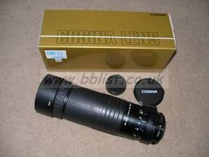 Cosina 100-500mm zoom lens