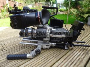 Sony FS700 with Alphatron, Movcam shoulder mount and V-lock