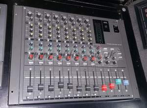 Video Production & Editing Stagetec Cantus Digital Sound Desk Control Surface With 68 Input Faders. 2.3m W
