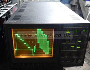 Tektronix 1731 composite waveform vector scope with single c