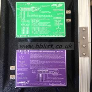 2 x Ambient Lockit boxes