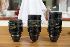 Cooke mini S4/i set of 3 Cinema Lenses