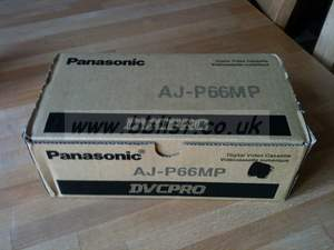 Panasonic AJ-P66MP Tape Stock