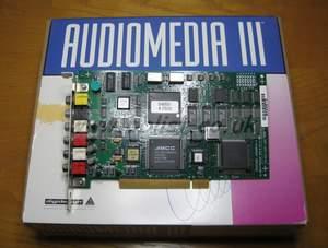 AudioMedia III PCI Audio Card