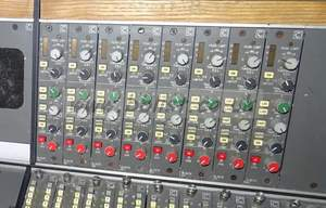 Audio For Video Stagetec Cantus Digital Sound Desk Control Surface With 68 Input Faders. 2.3m W