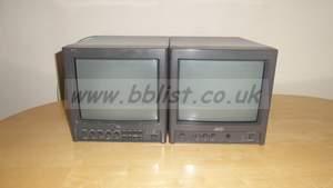 2x JVC SDI/Composite Video Monitors