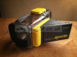 Waterproof Sony SPK-DVF5 Housing