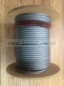 30m of 6mm Rigging Wire