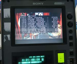 Sony dnw-a25WSP pal betacam SX recorder / player with LCD et