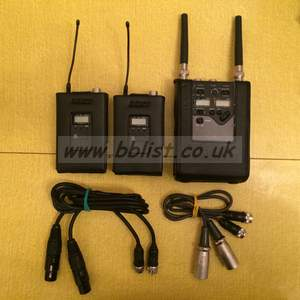 Sony WRR-862B UHF Synthesised dual diversity tuner