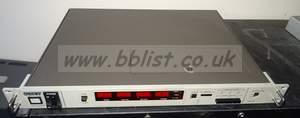 Sony bvg1500ps timecode reader / inserter unit