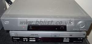 Sony and panasonic VHS / VHS to DVD recorders. NV-VP33