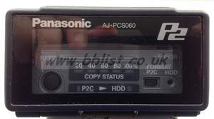 Panasonic P2 Hard Drive
