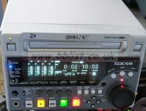 Sony xdcam PDW1500 SD machine. (230 laser hours)