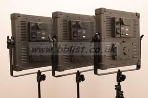 F&V K4000 LED Panel 3 Light Kit  [5600K Daylight]