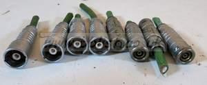 8x triax lemo connectors (4 male, 4 female) PHG-4M and FGG-4