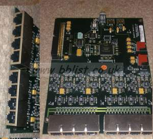 Trilogy 8 channel digital input board for intercom systems (